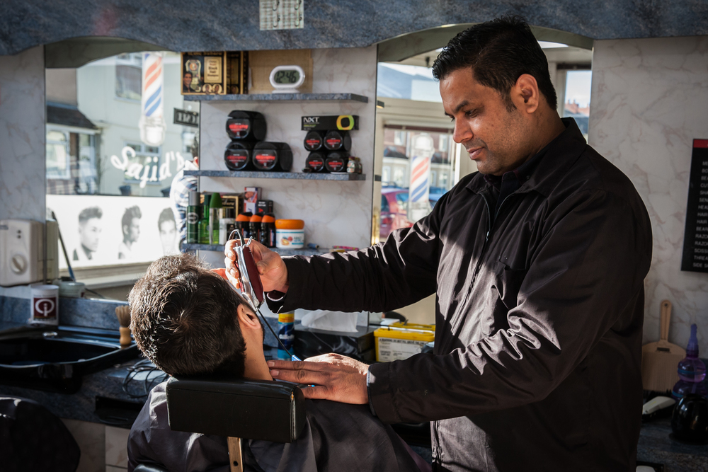 Sajid's, Easton, Barber Shop Photo Essay for   Bristol 24/7 Magazine .