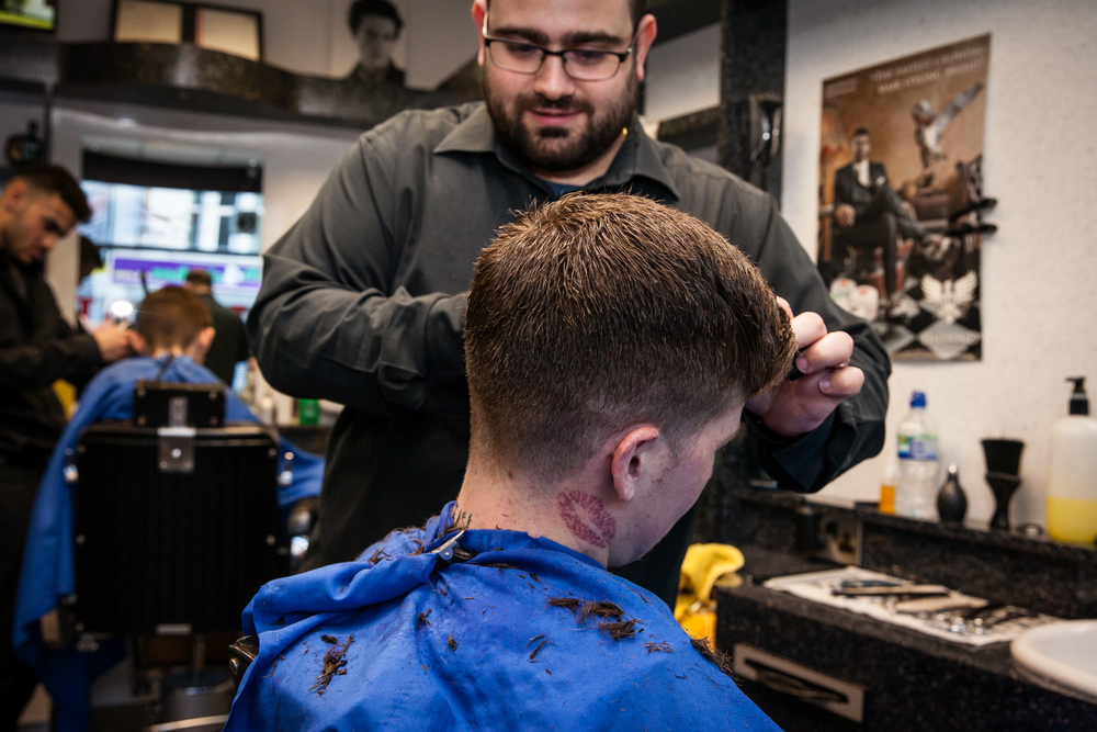 Giacomo and Sons, St George, Barber Shop Photo Essay for   Bristol 24/7 Magazine .