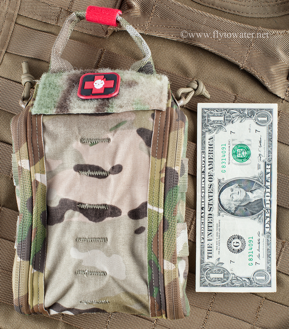 ITS Tactical Trauma Kit & Pouch Fully Loaded (FatBoy Configuration)