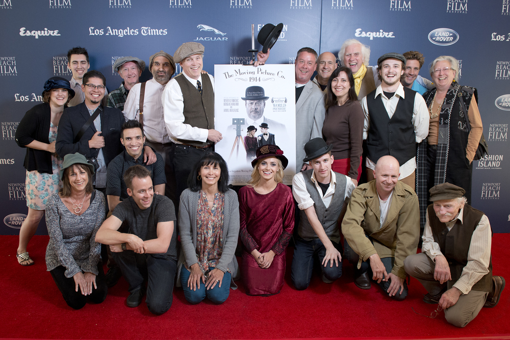 Cast & Crew at the Newport Beach Film Festival