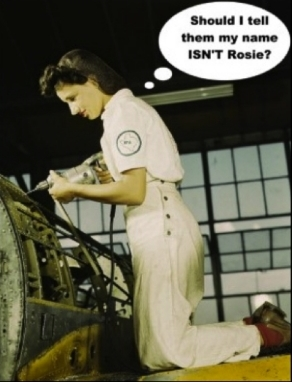 Even today, the most common cultural reference point we have for women doing skilled industrial labor is Rosie the Riveter, a 85 year-old icon. It speaks to the glaring scarcity of contemporary images of women in such jobs.