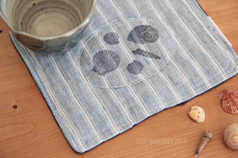 mug / snack rug