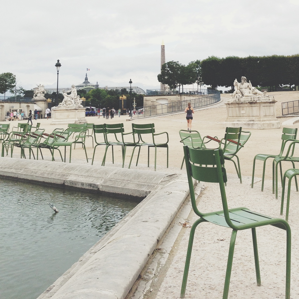 Sunday morning at the Jardin des Tuileries