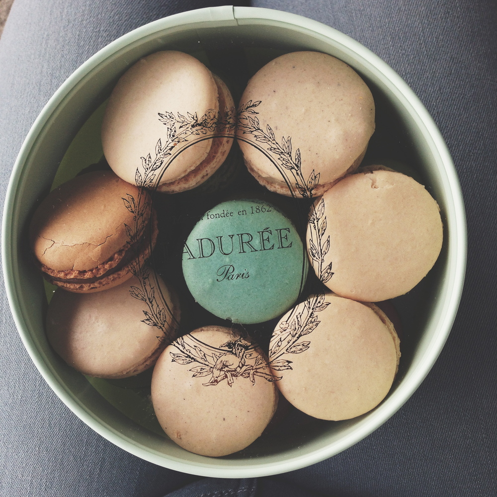 Unavoidable : macarons from Ladurée