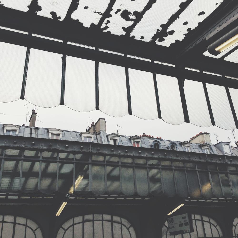 Random métro station