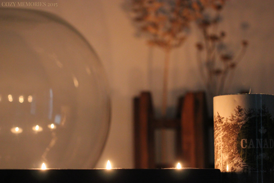 a perfect day for burning candles & pretending it's autumn already !