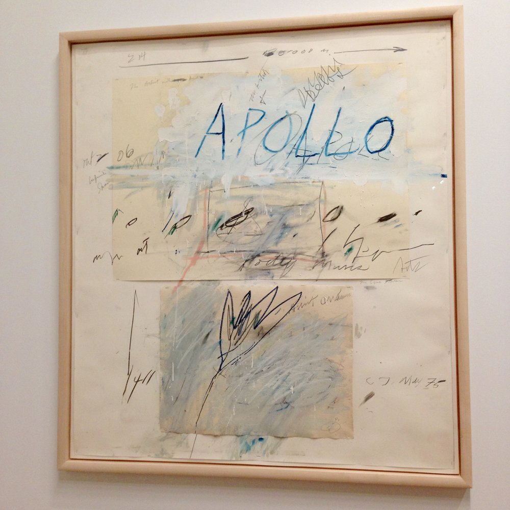 """Apollo and the Artist"", 1975"