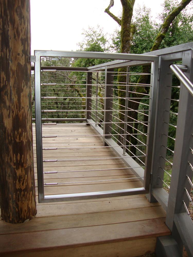 Los Altos Hills Gate — Upper Story Design