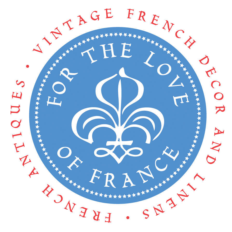 French Antiques Shop | Vintage French Decor French Linens Cafe au Lait Bowls and more...