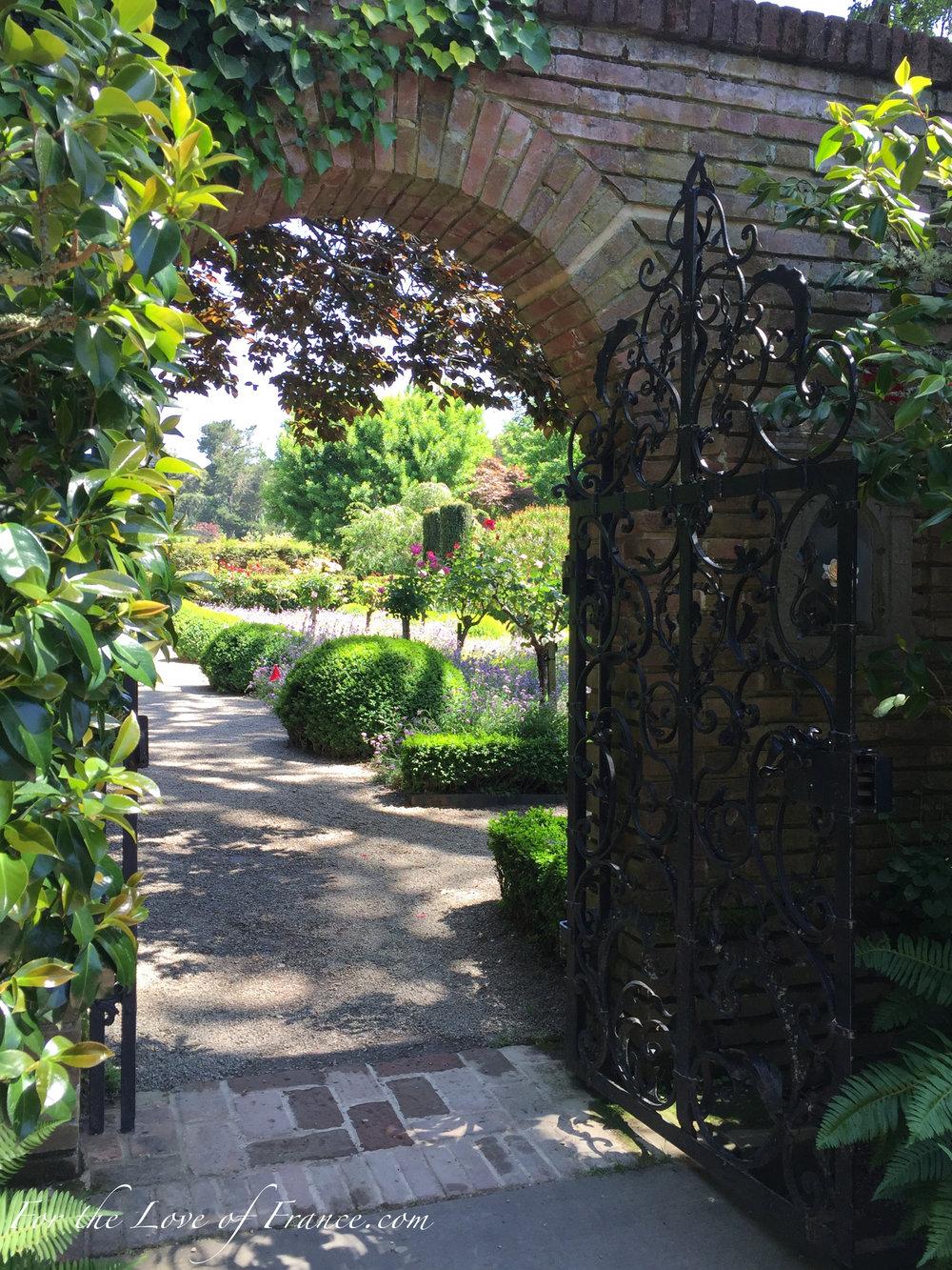 Filoli Garden Gate