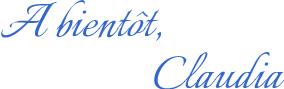 A Bientot, Claudia 14