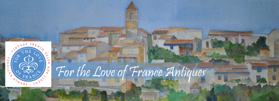 Watercolor of Lourmarin France by Claudia Violette