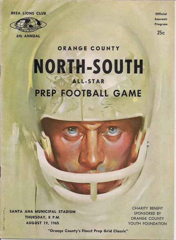 1959-1969 Game Programs