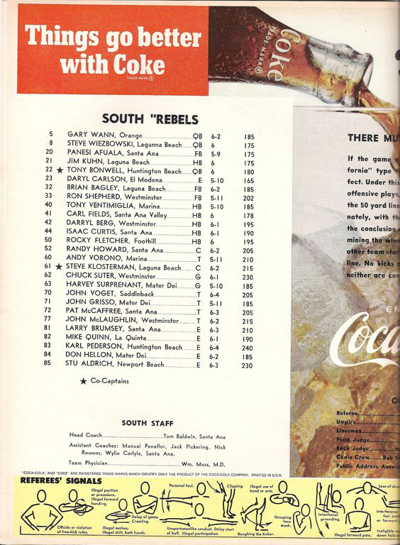 1969 South Roster, Coaches.jpg
