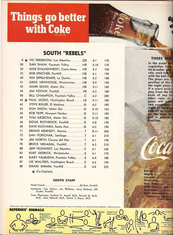 1970 South Roster, Coaches.jpg