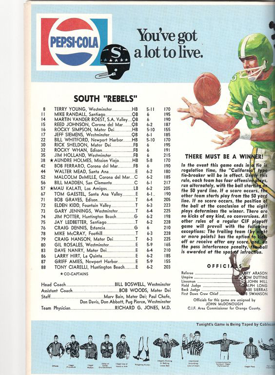 1972 South Roster, Coaches.jpg