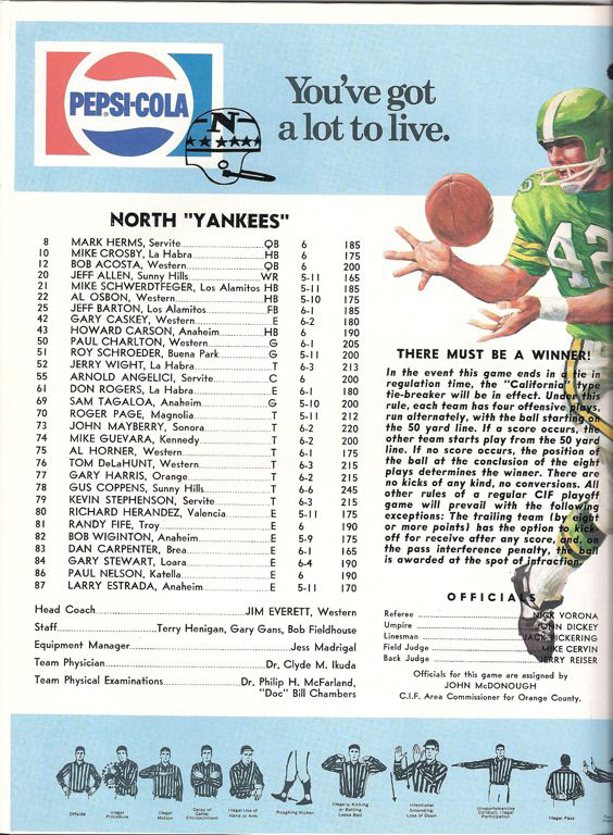 1973 North Roster, Coaches.jpg