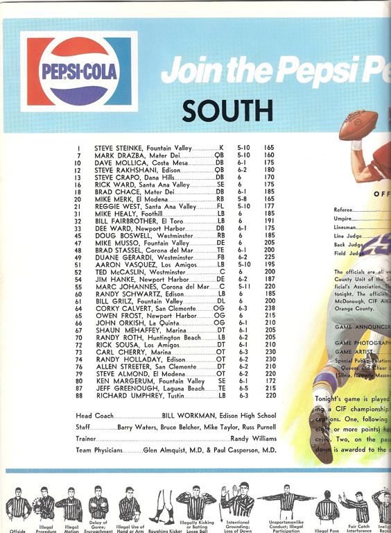 1977 South Roster, Coaches.jpg