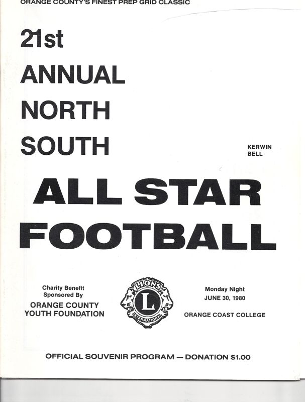 1980-1989 Game Programs