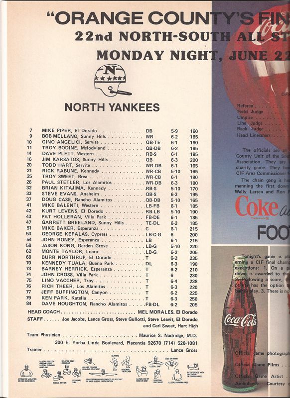 1981 North Roster, Coaches.jpg