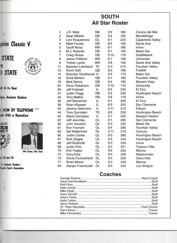 1994 South Roster, Coaches.jpg