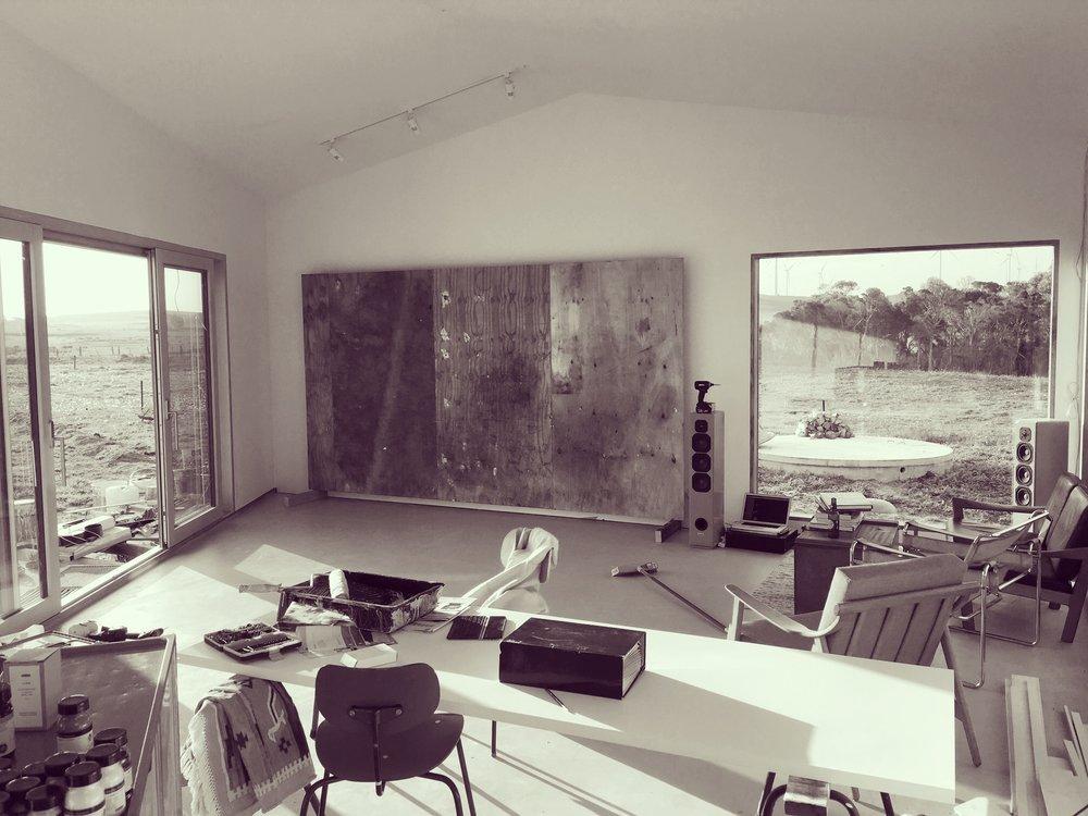 Brett's studio in Walkerville