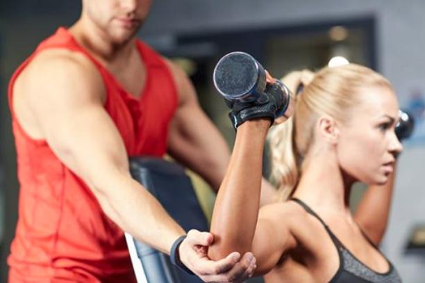 Personal Training mit Gewichten