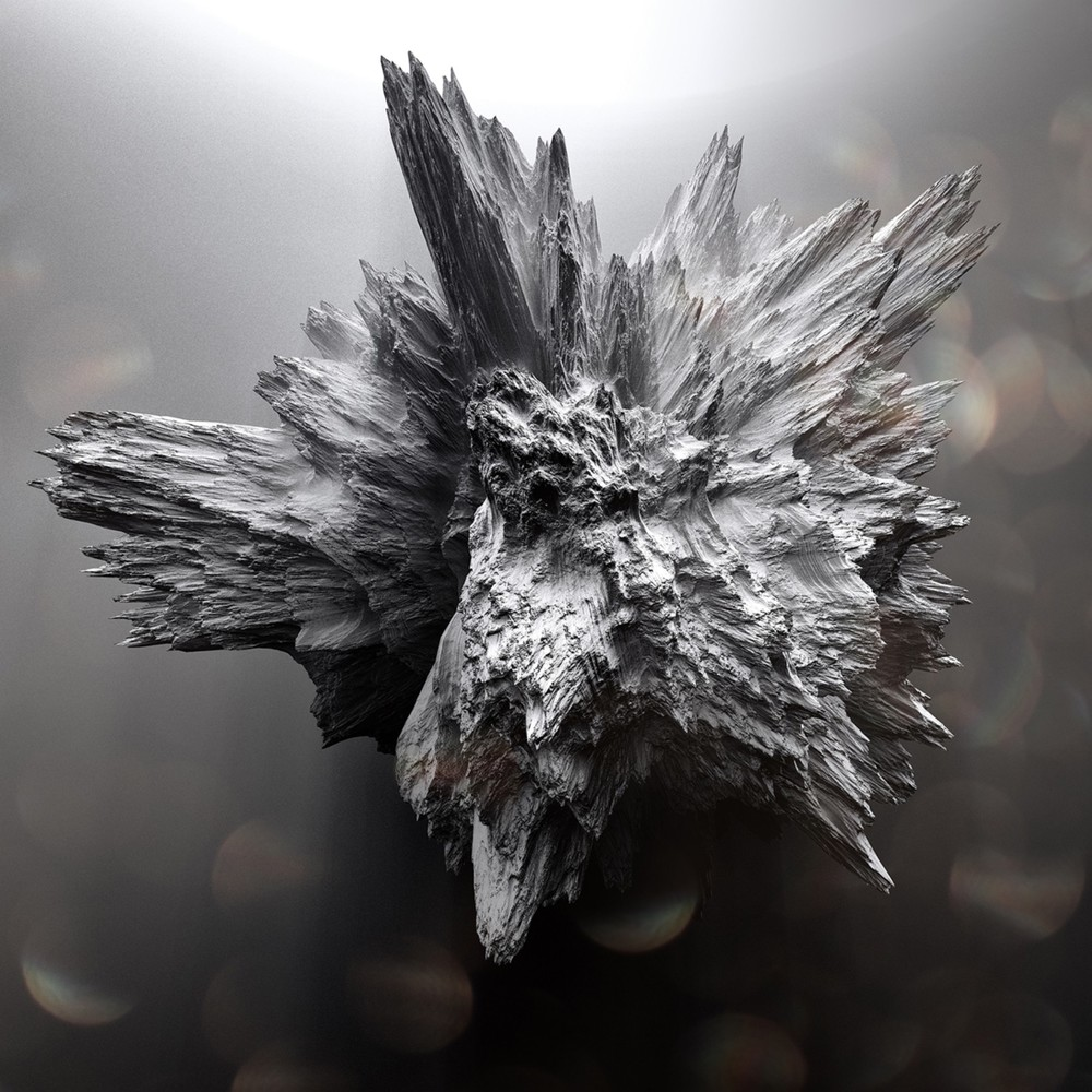 Crystallized Asteroïds by Istvan