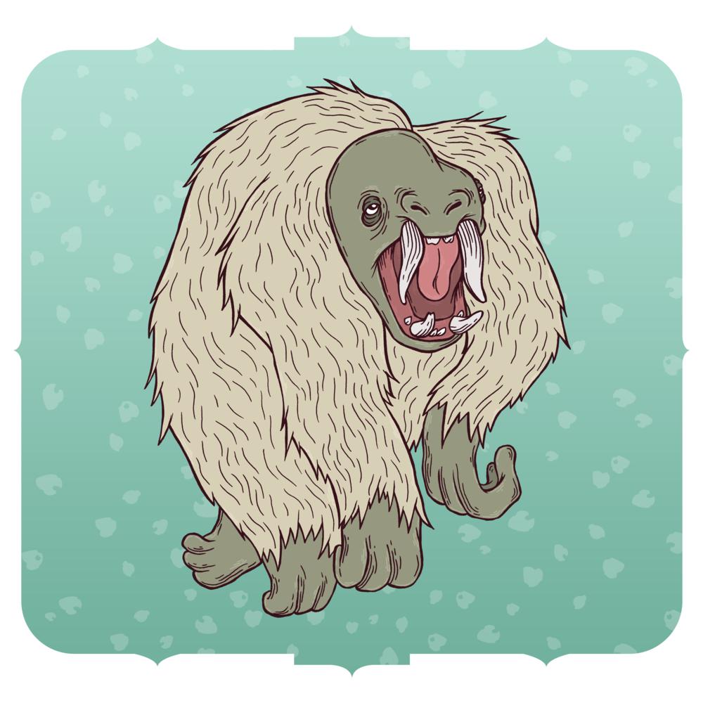 A troll, by Lauren