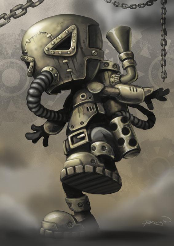 Steampunk, from Craig's Behance Portfolio