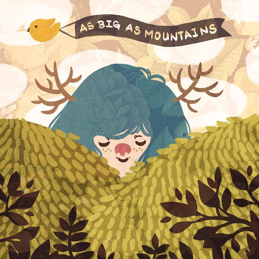The cover for As Big As Mountains