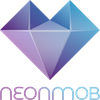 NeonMob logo with name 100x100 pixels