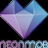 NeonMob logo with name 100x100 pixels