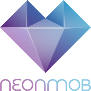 NeonMob logo with name 300x300 pixels