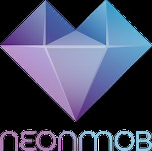 NeonMob logo with name 300x300pixels