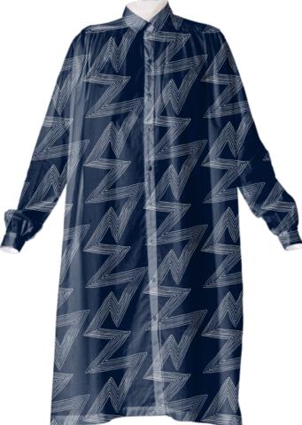 Acme Prints for Textile Arts Center shirt dress