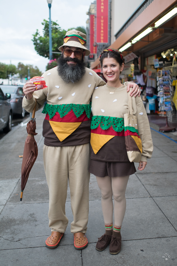 Jeremy Fish and Jayde Fish in the best matching couples outfit ever!