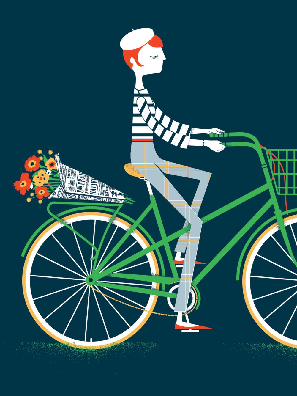 """""""Girl on Bike"""""""
