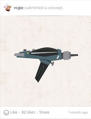 A concept for a collection of Epic Movie Weapons by Rogie King (@Rogie)