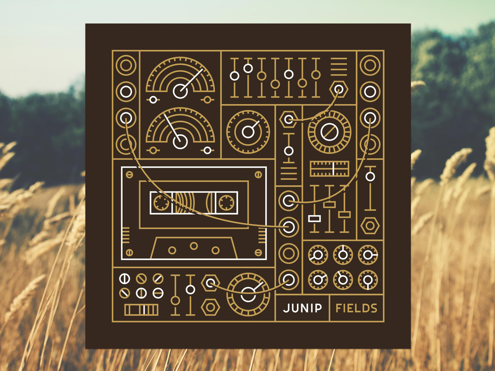 "A reimagining of Junip's ""Fields"" album cover by Dominic Flask"