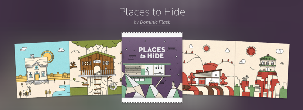 """Places to Hide"" by Dominic Flask is one of our latest collections culled from the Submissions page"