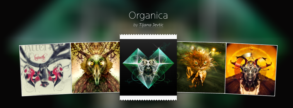 """Organica"" by Tijana Jevtic was our first collection chosen from the Submissions page"