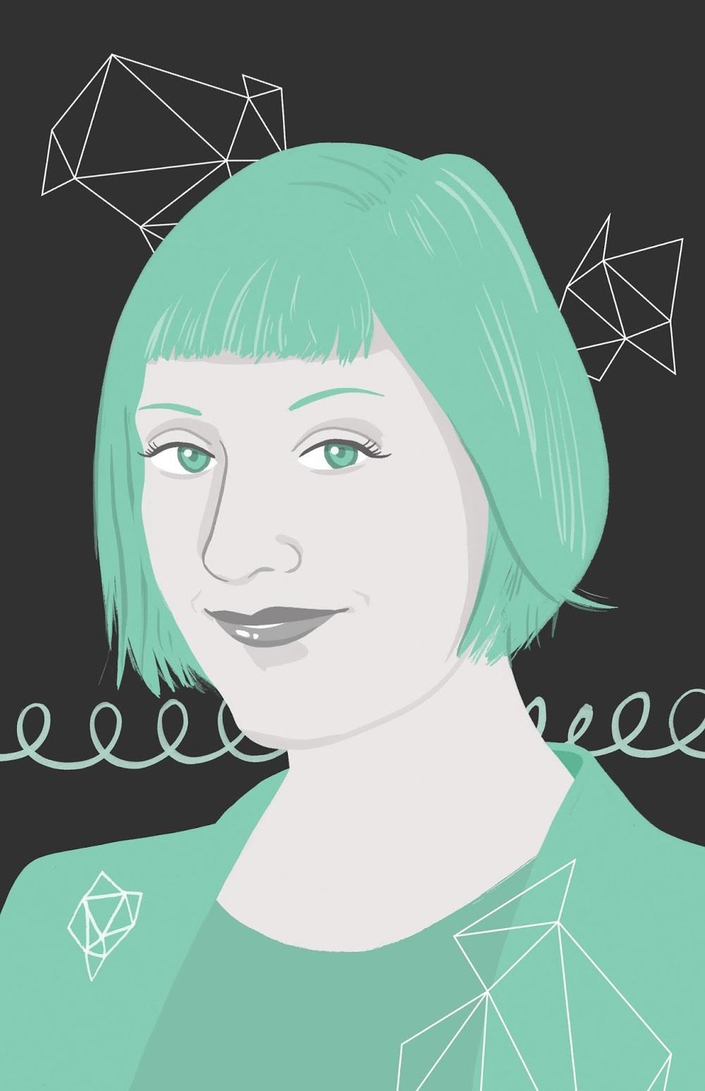 An illustration ofRobin Hunickefor Women's Work