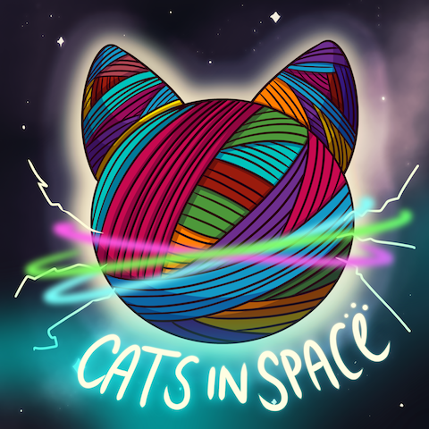 Cats in Space by Cypherden. Get a free pack!