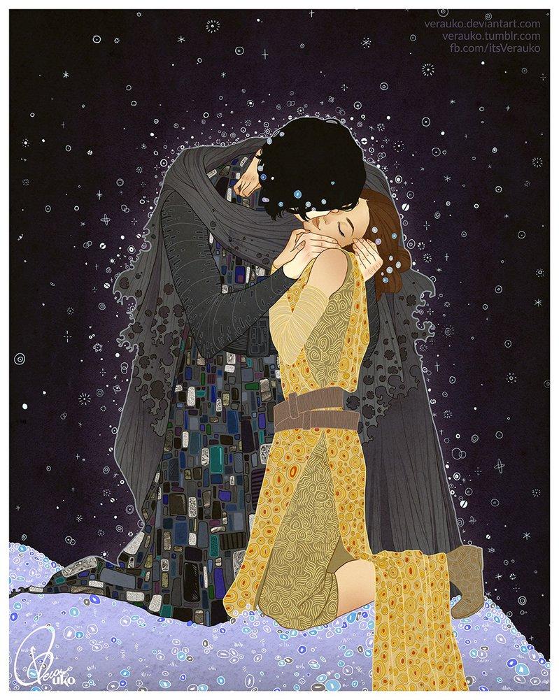The Kiss by Verauko