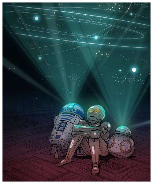 Beneath the stars by Samuel Lee