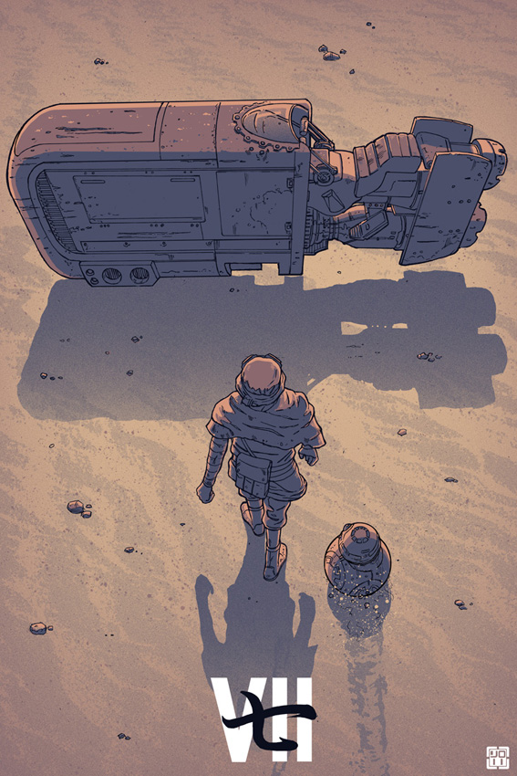Force Awakens Poster by Nexusroku