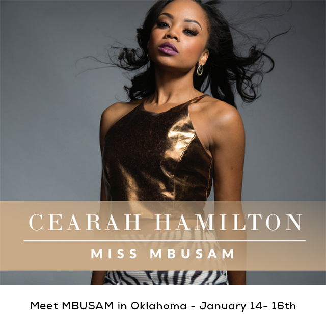 Atlanta, GA - January 10, 2015 - Cearah Hamilton, Miss Black US Ambassador, will make a stop on her US/International Media Tour in Oklahoma City, January 14, 2015. She is scheduled to make several appearances. On Thursday, January 15, Cearah will speak at local schools to empower youth, and then will appear at local radio and television stations before heading to crown Miss Black Teen Oklahoma US Ambassador and Miss Black Oklahoma US Ambassador 2015 at DC Film Row. The event will include a special appearance by Consul General Randy Rolle of the Atlanta Bahamas Consulate. Consul General Rolle is joining Cearah on her stop to Oklahoma City, to speak to several Bahamian students in the area, promote the first ever Bahamas Junkanoo Carnival Celebration taking place this spring in the Bahamas as well as show his support and partnership with the Miss Black US Ambassador Scholarship Program. On January 16, Cearah will conclude her trip and travel to Tulsa with a visit to the Greenwood Cultural Center and Museum in the Historical Greenwood District. The Miss Black US Ambassador and Miss Black Teen US Ambassador Scholarship Pageant LLC, exists to provide once in a lifetime opportunities for young African American women to serve as ambassadors of change and to encourage, empower and enlighten, communities, states and nations. These young women are rising voices in the community who seek to make a difference by providing educational forums and events that focus on health disparities, poverty, violence and major issues plaguing the African American community. They are role models, not only to young African American women, but to women around the world. These young women are more than pretty faces, and the program is more than a competition. It's a program that gives 365 days of support and resources to communities in need. The program is a platform for today's savvy, smart and aware, young women of color to express their viewpoints, extraordinary talents and accomplishments to the national public, while offering scholarships opportunities to further education. For more information on the media tour please contact admin@thembusam.com or call 678-367-0050.                                                                                                                                              ### For more information, visit: www.thembusam.com; Facebook: www.facebook.com/MissBlackUSAmbassador; Instagram: @mbusam_pageant PR Contact: Patrice Harrison, Founder & Chief Executive Officer  E: Patrice.Harrison@thembusam.com T: 678.367.0050 ext 101