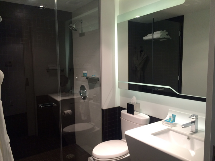 Cool Bathrooms Nyc hotel review: w new york downtown - not worth it — mad about miles