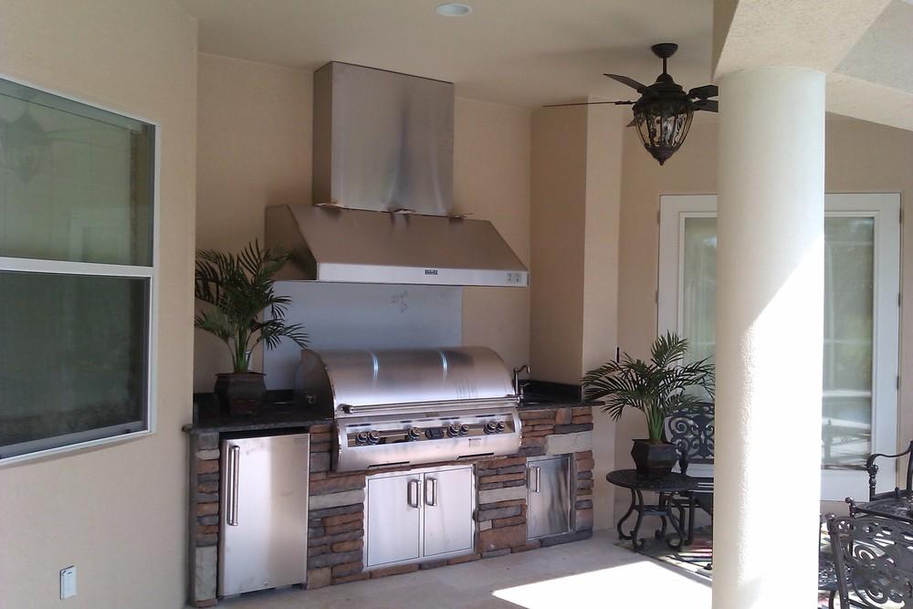 Simple Outdoor Kitchen Designs - Premier Outdoor Living ... on Simple Outdoor Living id=95965